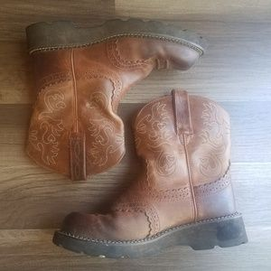 Ariat Fat Baby Saddle Western Boots